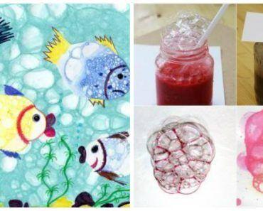 рисуем мыльными пузырями 11