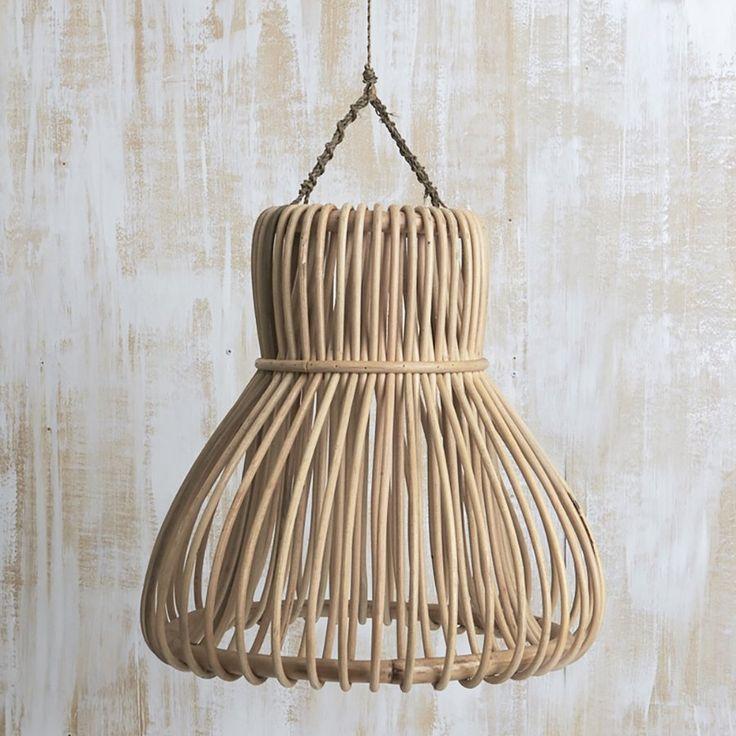 Image of Rattan Bulb Pendant