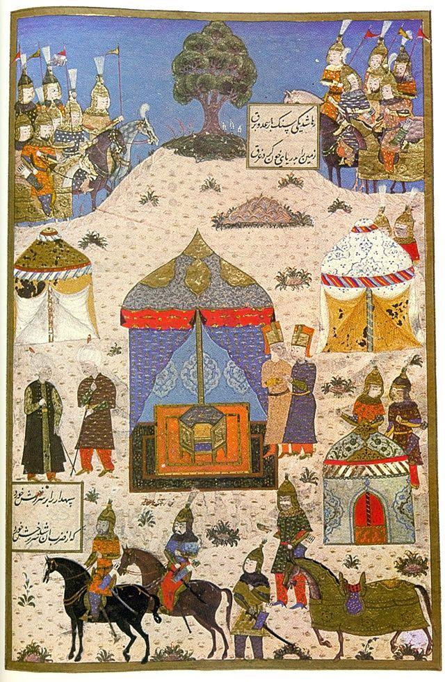 Title Siege of Temesvár (today Timisoara),_1552 Date 16th century Medium Turkish miniature