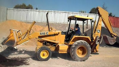 John Deere Service Technical Manual: JOHN DEERE 410B 410C 510B 510C BACKHOE LOADER REPA...