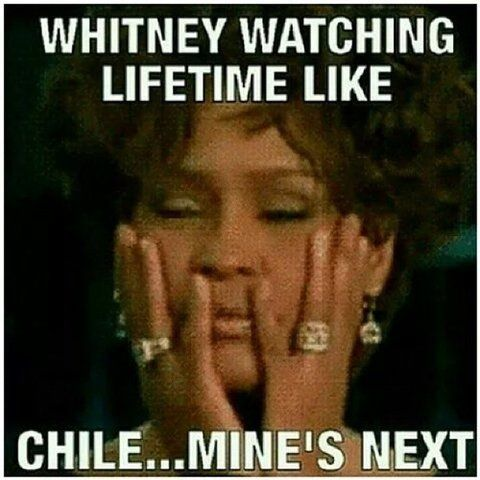 I know one thing If that #Whitney movie is not on point. She will be cussin' ninjas out from the grave! BWAH HA HA HA HA HA HA HA #LOL #Believethat #Yup ;-D