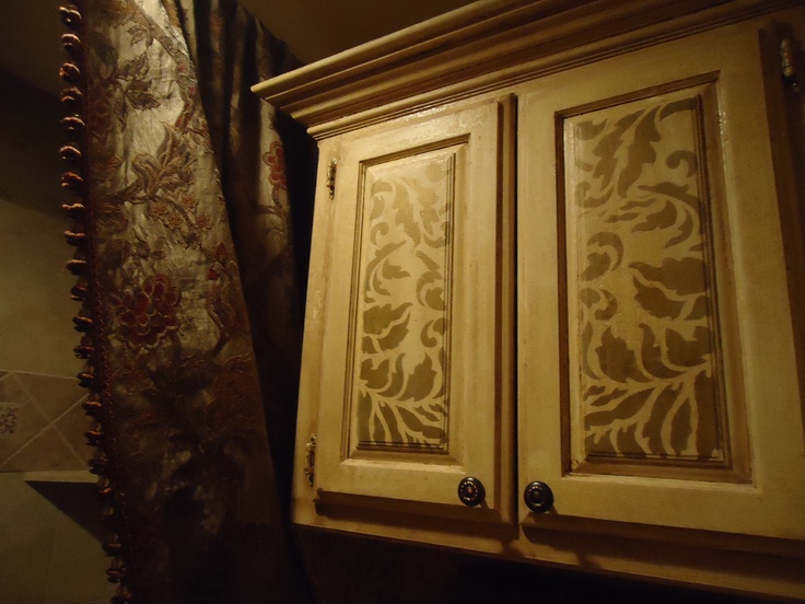 35 Best Images About Kitchen Cupboard Stencil Ideas On Pinterest Wisteria Furniture And