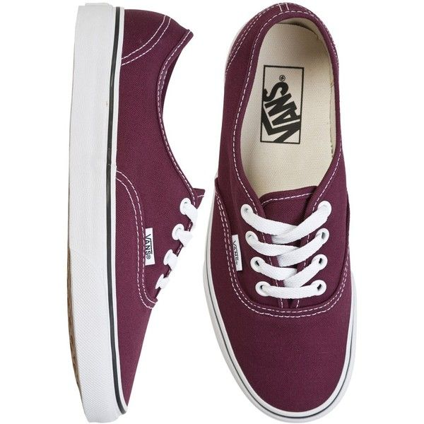 Vans Authentic Shoe (60 CAD) ❤ liked on Polyvore featuring shoes, sneakers, vans, chaussures, patterned shoes, vans trainers, waffle shoes, vans footwear and vans shoes