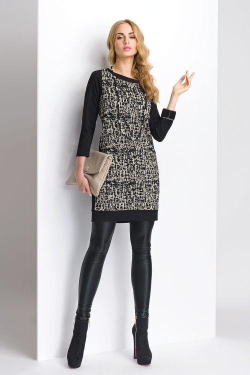 Elegantné biznis šaty S00904