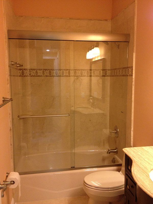 The Original Frameless Shower Door Gallery With Images Shower