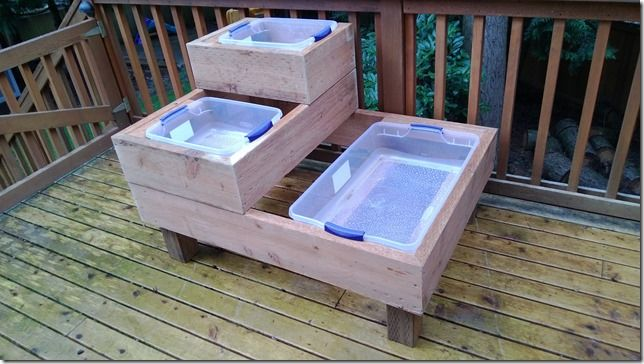 I recently completed building a fairly basic, custom water table for my son. While there were some definite challenges with the construction process, I wanted to post up my design and personal expe…