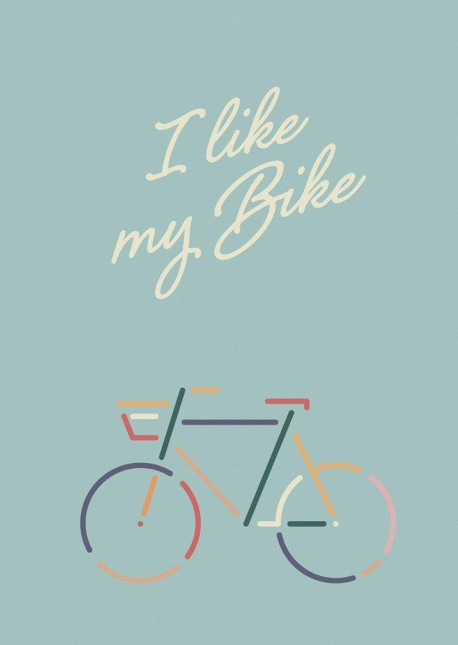 I like my Bike | Youth is Forever