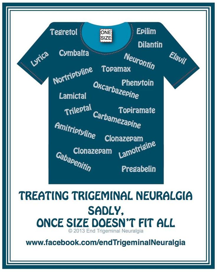 Trigeminal Neuralgia. It hurts.