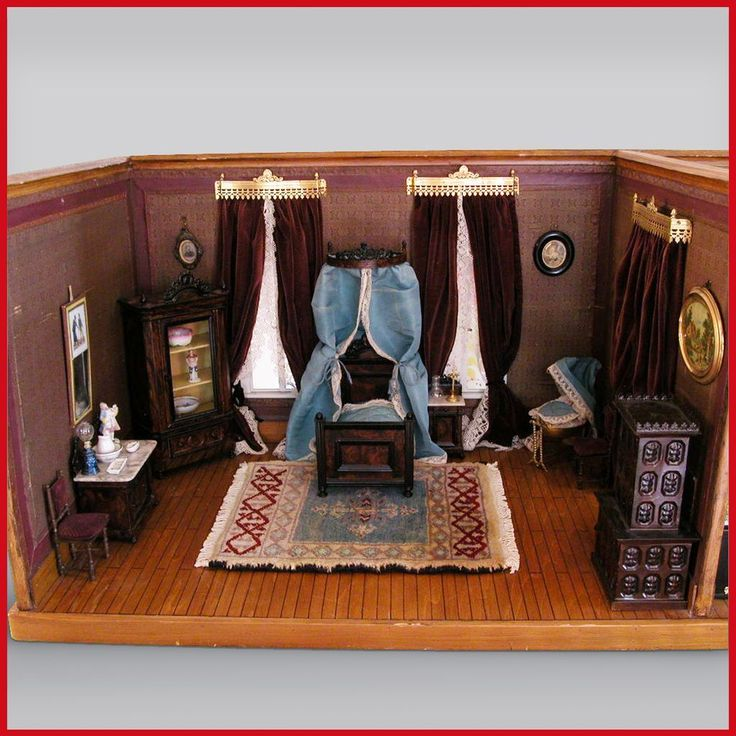 Rock U0026 Graner Double Room Box Filled With Rare Rock And Graner Dollhouse  Furniture From The Rothenburg Toy Museum U2013 Large Scale