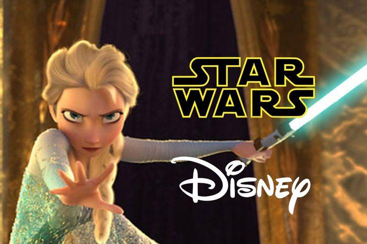 pas mal du tout !! :)  Star Wars Disney - Let it Flow - Let it Go Frozen Parody