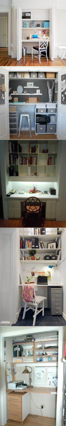 Личнный кабинет в небольшой квартире: реально ли? — Полезные советы