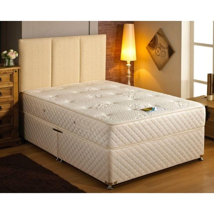 Dura Beds Tencel Pocket 1000 Divan Set. Free Delivery.
