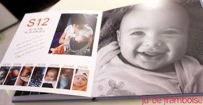 Le Livre Photo de mon Bébé, semaine par semaine, avec Pixum (Tuto dedans) | Ju2Framboise