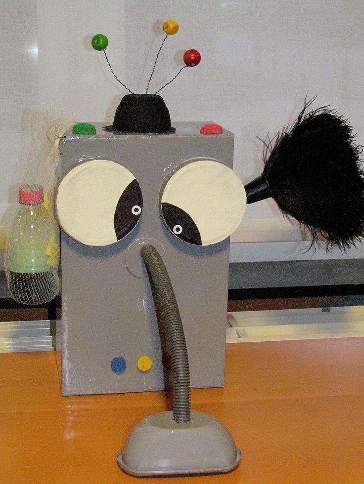 Beeldactiviteit: Poetsrobot