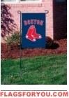 "Red Sox Garden Window Flag 15"" x 10.5"""