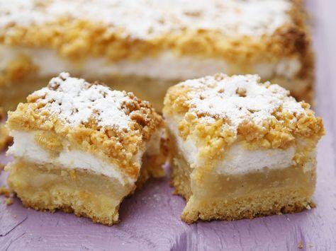 Apfelkuchen mit Baiser - smarter - Kalorien: 305 Kcal - Zeit: 40 Min. | eatsmarter.de