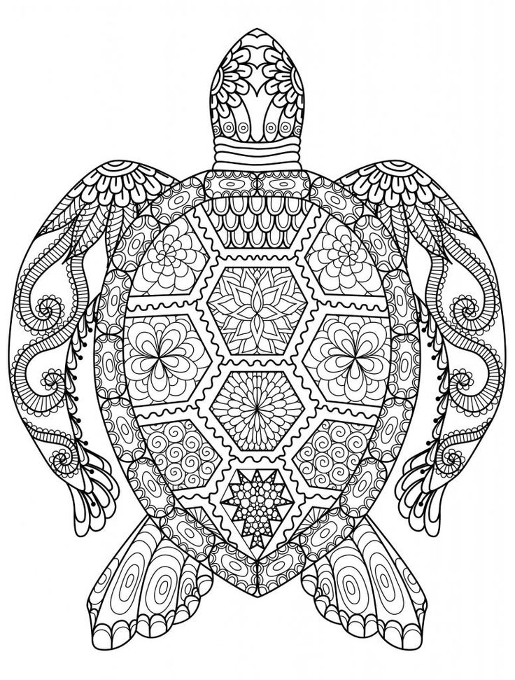 Animal Mandala Coloring Pages Animal Mandala Coloring Pages