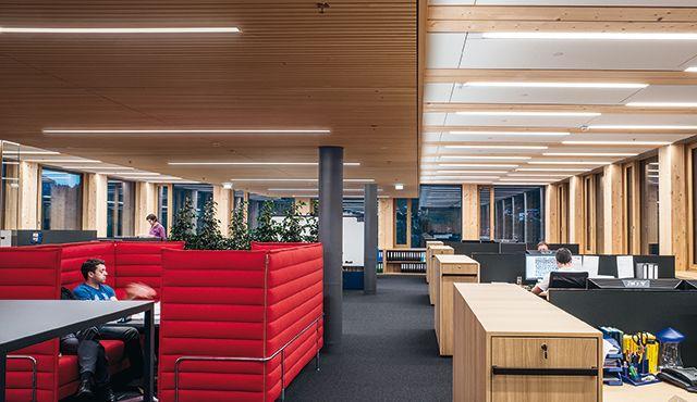Kontorsbelysning med LED: ljus för kontor - Zumtobel