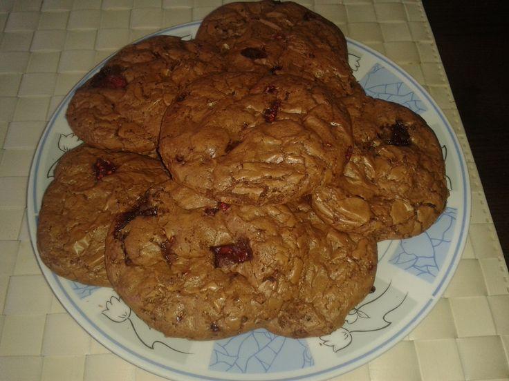 čokoládkové Cookies