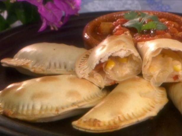Get Argentinean Corn Empanadas Recipe from Food Network