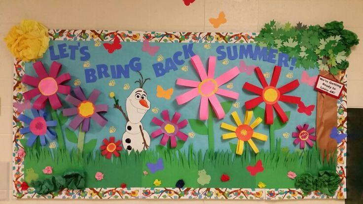Olaf Bulletin Board for our 4K