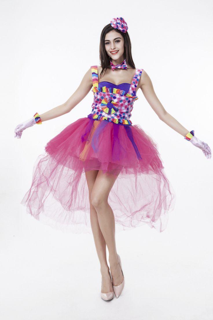ハロウィン 仮装 ジョーカーガール 衣装 コスプレ コスチューム 大人用 ピエロ服 ピエロ衣装…