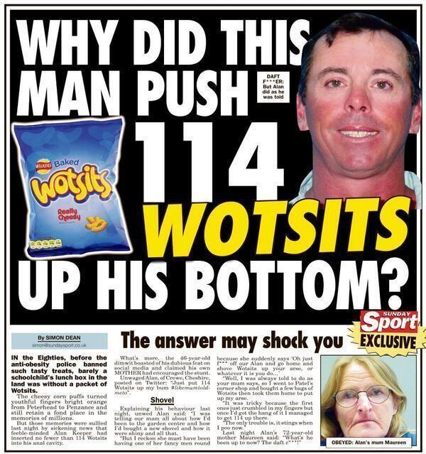 "24 Headlines That Prove The ""Sunday Sport"" Is Britain's Best Newspaper"