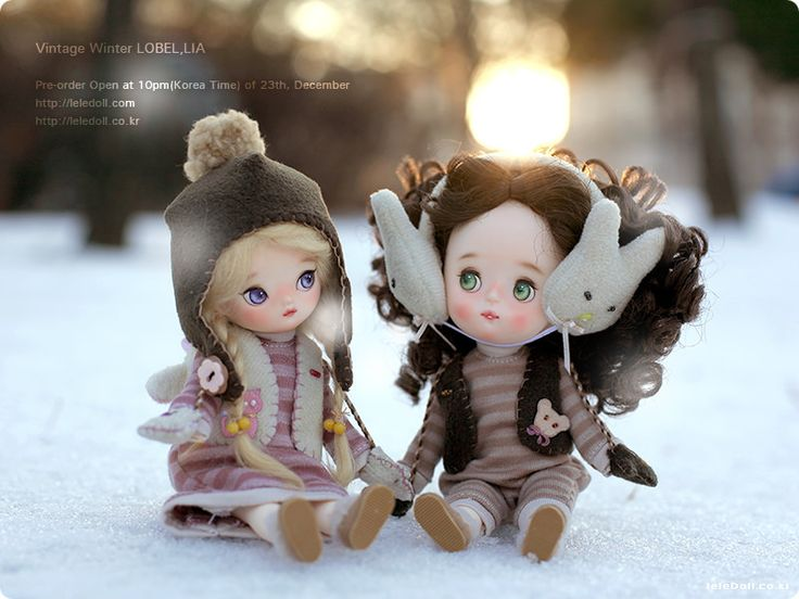 Pre-order open at 10pm of 23th, December leledoll.com
