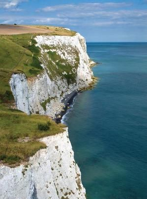 The White Cliffs of Dover (England)... I've seen them but want to go back with my husband!