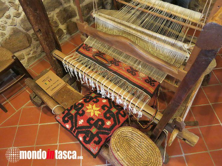 L'arte tradizionale della tessitura nelle sale del #museo etnografico di #Aggius (MEOC)