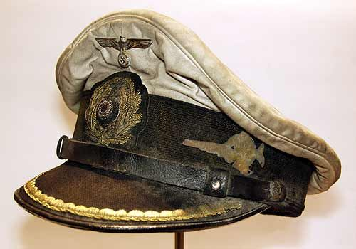 """""""Aging, oil marks, discoloration. No I'm not describing your mother's face, I'm talking about this U-Boat captain's hat. It's an outstanding reproduction. I should know – my great-uncle Horst had one just like it."""" - Dwight Schrute"""
