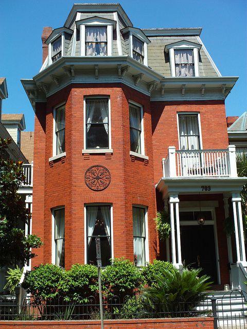 Best 703 Whitaker Street Savannah Victorian Mansard Roof House 400 x 300
