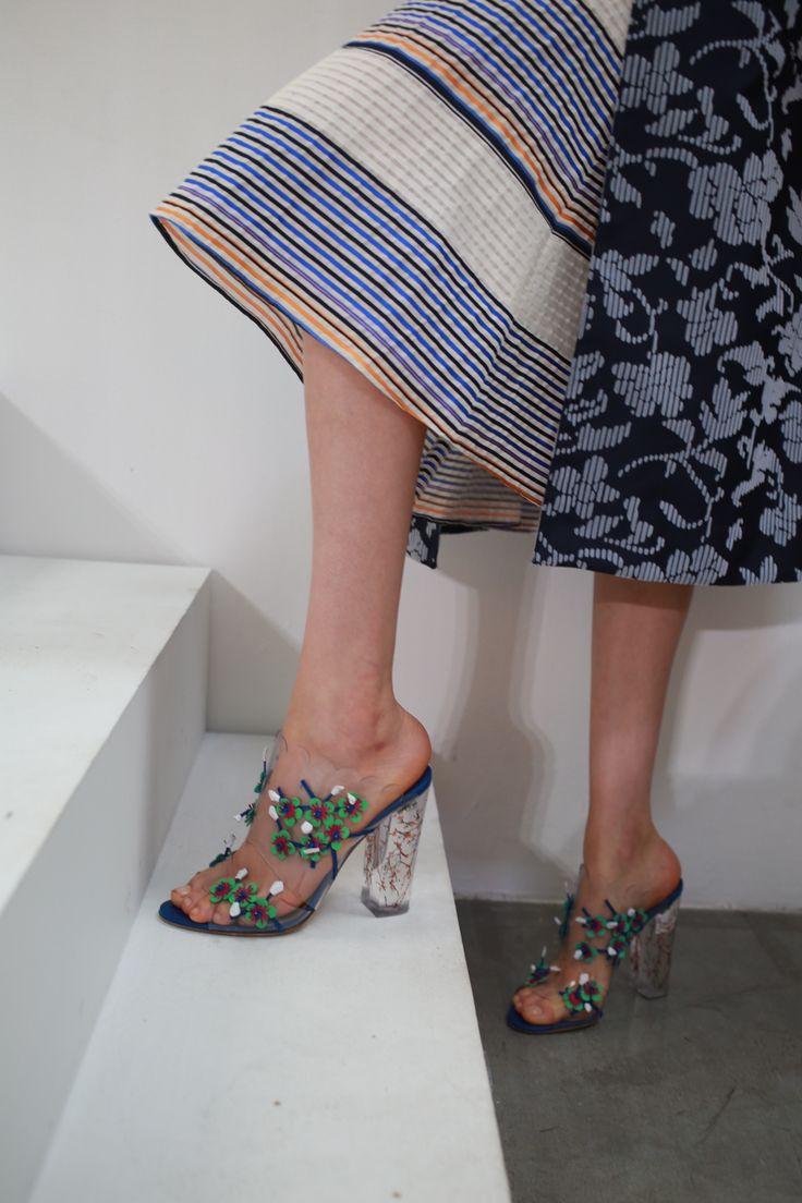 Shoes: Paul Andrew for Tanya Taylor / Tanya Taylor Spring 2016