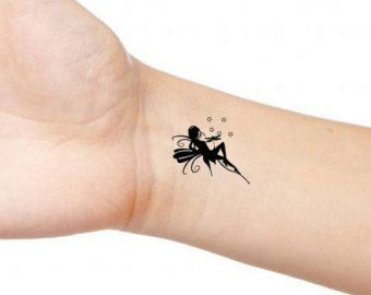 Fairy-Tattoo-On-wrist