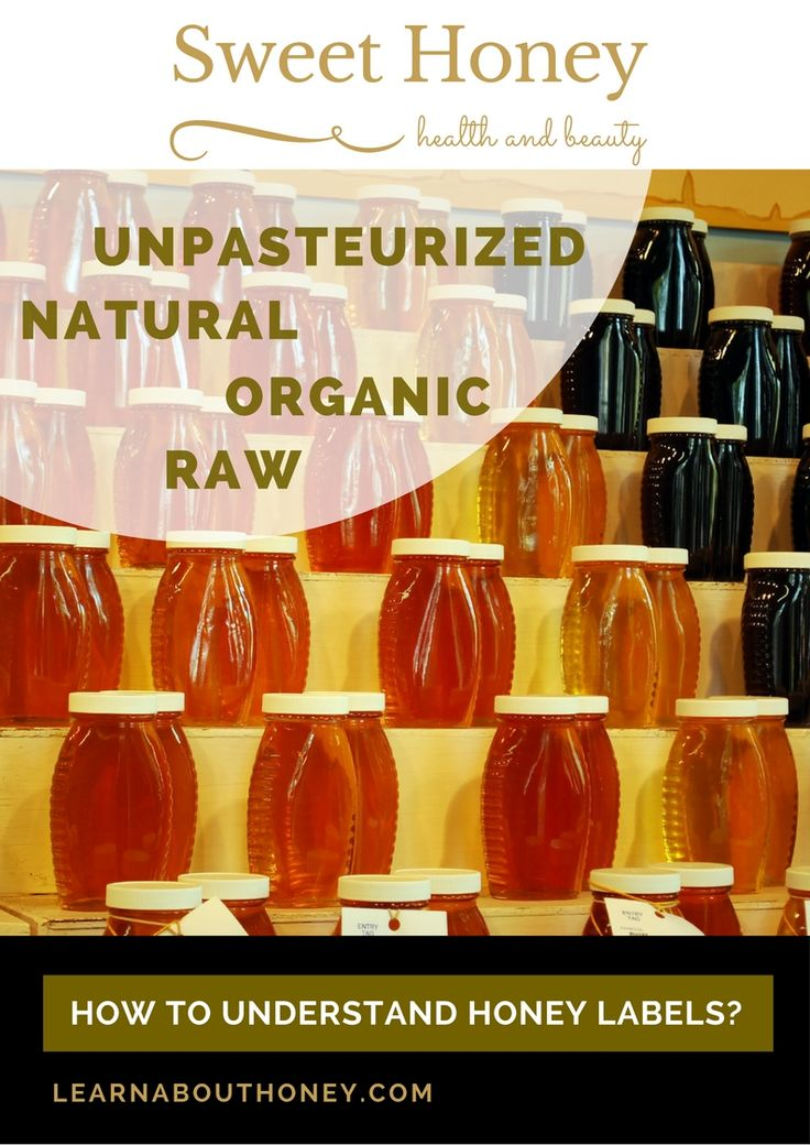 Natural Honey, Pure Honey, Raw Honey, Unpasteurized Honey https://learnabouthoney.com/natural_raw_unpasteurized_honey