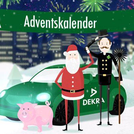 DEKRA Akademie Adventskalender  Ab heute öffnet sich bis Weihnachten jeden Tag ein neues Türchen für Euch. Jetzt mitmachen und täglich gewinnen!