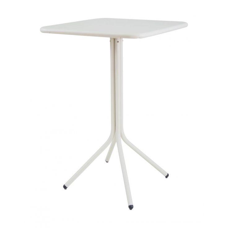 Emu Yard Bartisch / Stehtisch 70 × 70 cm, klappbar, Tischplatte Aluminium beschichtet