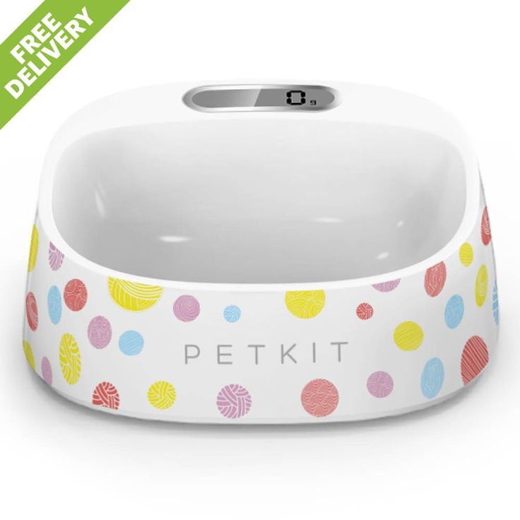 This pet bowl is developed for pet owners. The PETKIT app calculates the precise food quantity for each pet and shows detailed numbers clearly on a LCD screen so that the owners can control the food according to their pet's actual demand and it helps the pets to stay healthy and well balanced.
