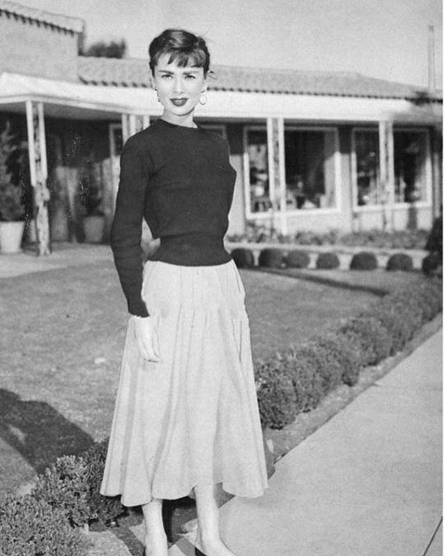 Audrey, 1950s ❤️ audreyhepburn 1950s in 2019