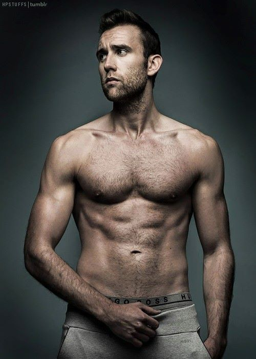 O_O OH my. Neville Longbottom has turned out to be a real babe!!