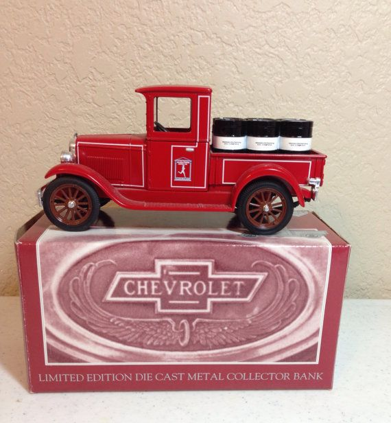 Marathon Oil Company 1928 Chevrolet National AB Bank Truck by Oldtonewjewels