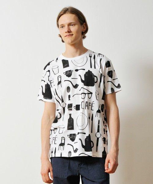 graniph | ルイスロックハートTシャツ/カフェ(T Shirts)