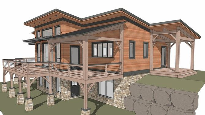 Timber Frame House Plan The Lincoln Timber Frame House Design Your Dream House Shed Roof Design