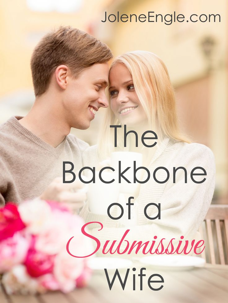 Great explanation of what a submissive wife is NOT.
