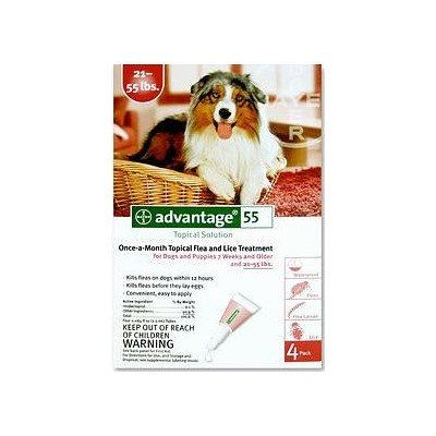 Flea medication for dogs supply size 4 month supply pet weight 21