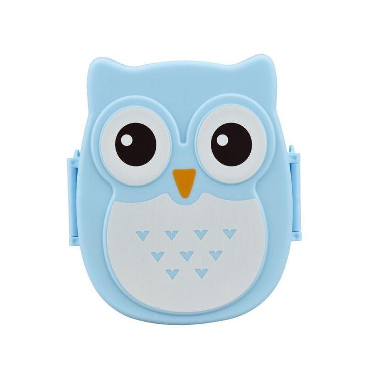 Children Lunch Box Cute Owl Food Container Storage Box for Student Girl Portable Bento Box Bolsa Para Marmita Termica #7926