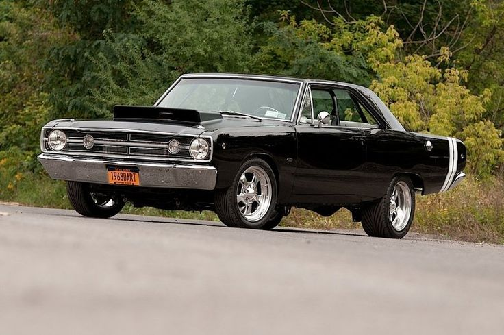 "1968 Hemi Dodge Dart. Light turns green and it says, ""Well, uh, byeeeee""!"