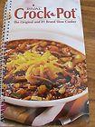 2007 Rival Crock Pot original & #1 Brand Slow Cooker COOKBOOK