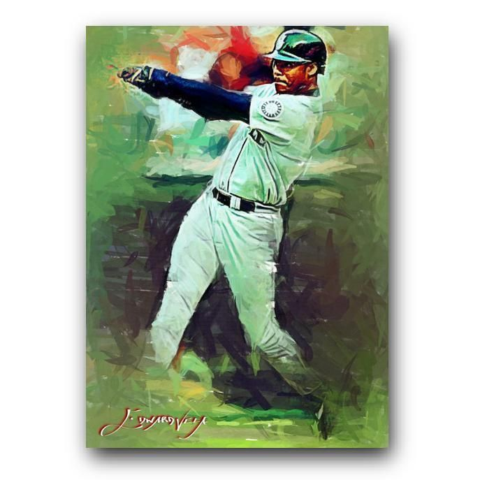 6c02d84cac Ken Griffey Jr #39 Sketch Card Limited 15/50 Edward Vela Signed  #SeattleMariners