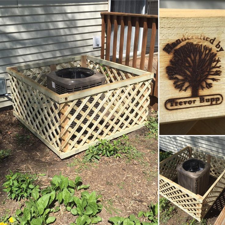 Built this airconditioner surround unit to prevent the